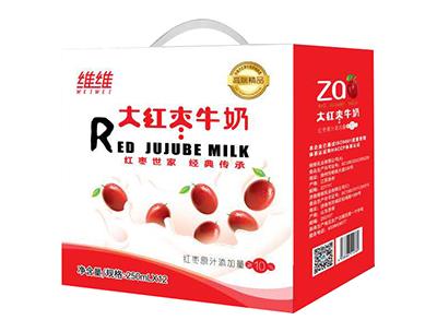 维维大红枣牛奶(礼盒)250ml×12