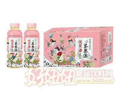 优贝源茶果π西柚茉莉花茶500ml×15瓶