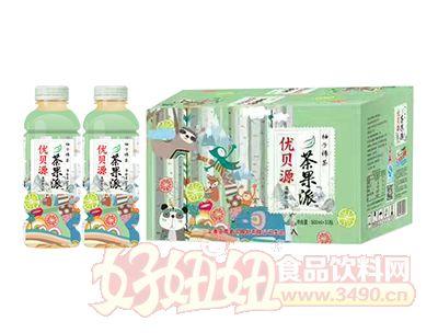 优贝源茶果π柚子绿茶500ml×15瓶