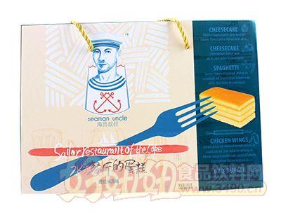 舌尖爱海员叔叔提拉米苏味水手餐厅的蛋糕688g礼盒