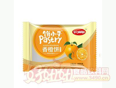 华豫杨老大饼小子香橙饼烘培类糕点