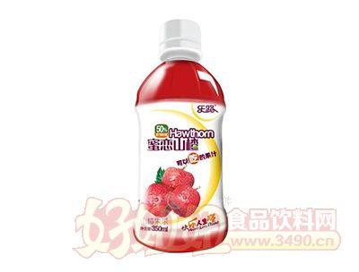 乐路蜜恋山楂山楂果茶饮料350ml