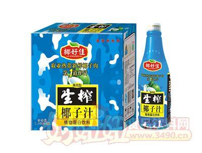 椰好佳生榨椰子汁1.25L×6瓶
