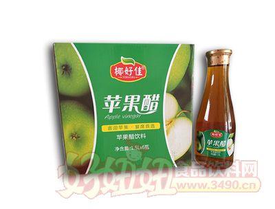 椰好佳�O果醋1.5L×6瓶