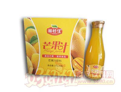 椰好佳芒果汁�料1.5L×6瓶