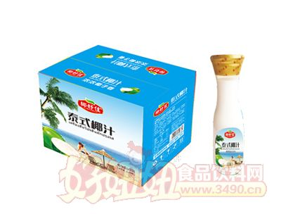 椰好佳泰式椰汁植物蛋白饮料1L