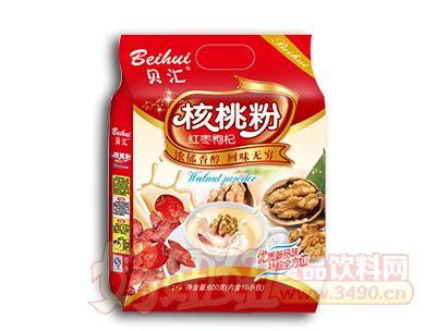 贝汇红枣枸杞核桃粉600克