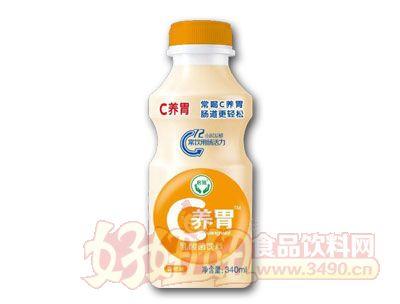 C养胃乳酸菌饮料香橙味340ml