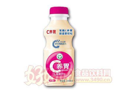 C养胃乳酸菌饮料草莓味340ml