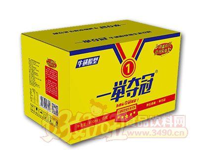 一举夺冠牛磺酸型维生素饮料600ml*15瓶
