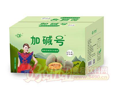 加碱号哈密瓜味苏打水饮料420ml*24瓶