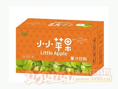 畅露小小苹果果汁饮料箱装