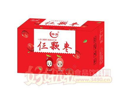 畅露仨颗枣果汁饮料箱装