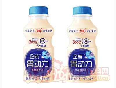 企航胃动力乳酸菌饮品原味340ml