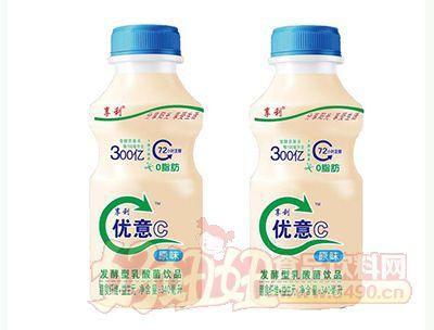享利优意C原味发酵型乳酸菌饮品340ml