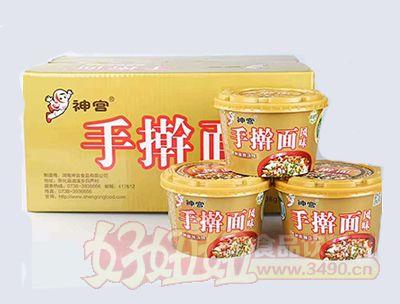 神宫手擀面贵州酸辣汤味箱装