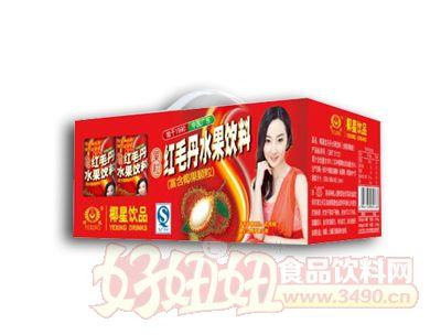 椰星红毛丹礼盒240g×12罐
