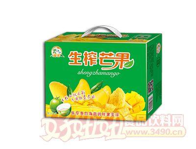 椰粟生榨芒果汁245ml箱装