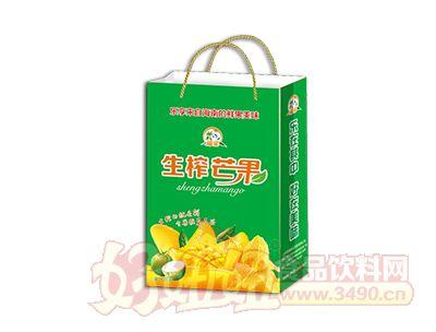 椰粟生榨芒果汁245ml手提袋