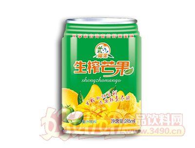 椰粟生榨芒果汁245ml