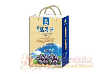 椰粟野生蓝莓果汁饮料245ml手提袋