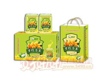 椰粟生榨芒果汁饮料245ml礼品装