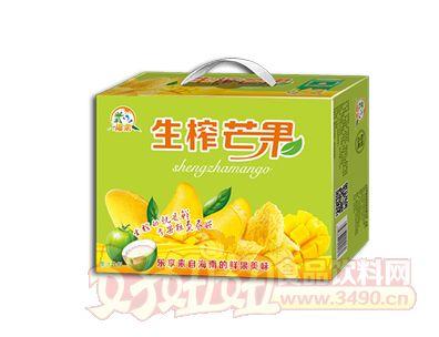 椰粟生榨芒果汁饮料245ml手提礼盒装