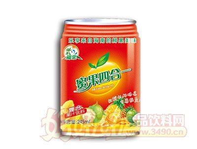 椰粟蜜果四合一复合果汁饮料245ml