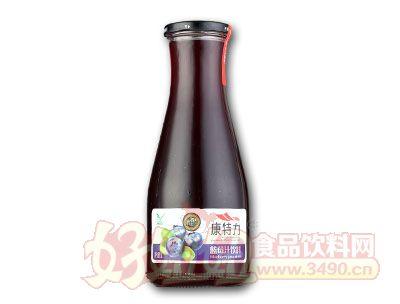 康特力蓝莓汁饮料1L