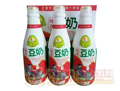 亿家优品纯真豆奶1.25L