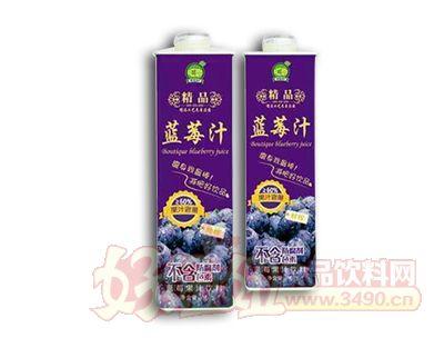 汇恋精品蓝莓汁1L