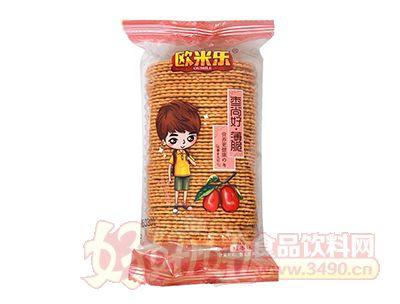 欧米乐枣尚好红枣味薄脆饼干