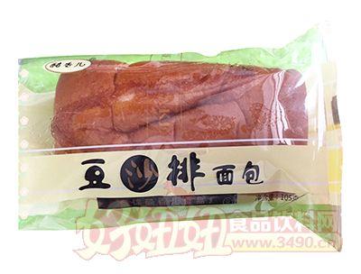 酷香儿豆沙排面包105g