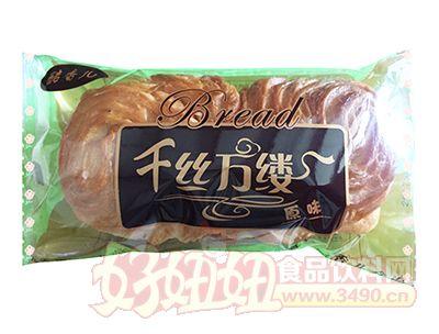 酷香儿千丝万缕原味面包100克