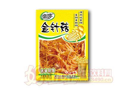 蛮馋金针菇清爽脆嫩30克