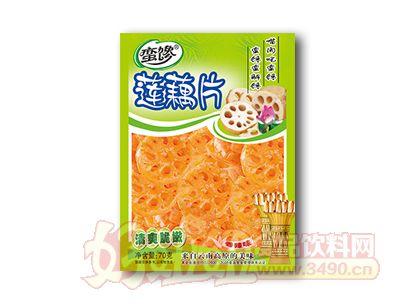 蛮馋莲藕片70克