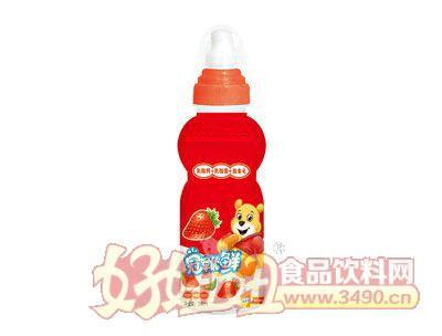 冠军优鲜乳酸菌200ml草莓味