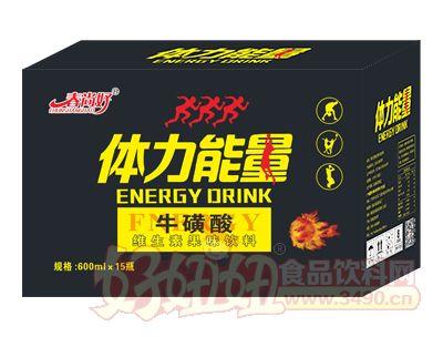 春尚好体力能量牛磺酸维生素饮料600ml×15瓶
