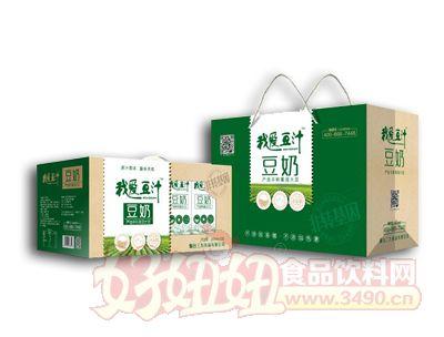 我爱豆汁豆奶250ml×12盒礼盒装