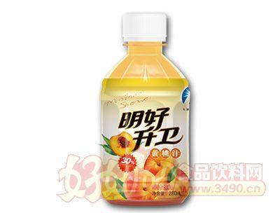 明好升卫黄桃汁280ml
