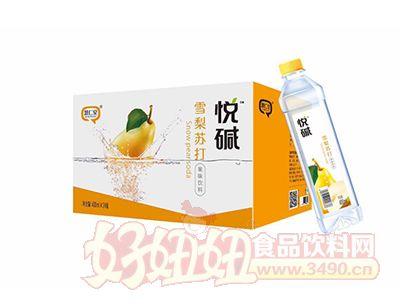 慧仁堂悦碱雪梨苏打果味饮料400ml×24瓶