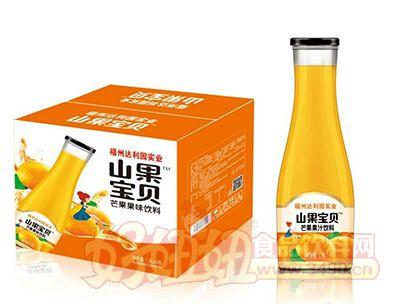 山果宝贝芒果果味饮料1.5L×6瓶