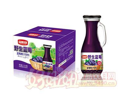 富顺康野生蓝莓果汁饮料1.2L×6瓶