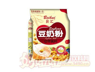 贝汇红枣高钙豆奶粉800克