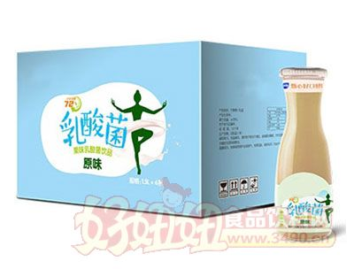 乳酸菌原味1.5L*6瓶