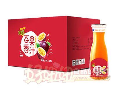 百香果汁1.5L*6瓶