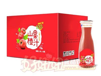 山楂果汁1.5L*6瓶