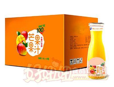 芒果果汁1.5L*6瓶