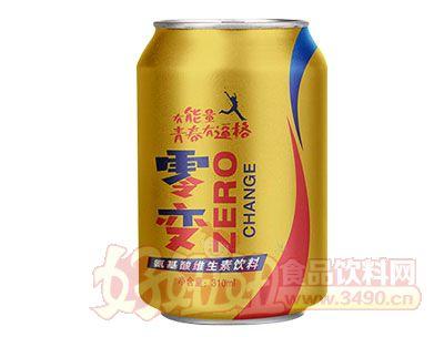 零变氨基酸功能饮料易拉罐310ml