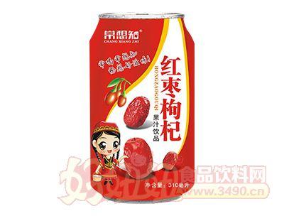 常想知红枣枸杞复合果汁310ml